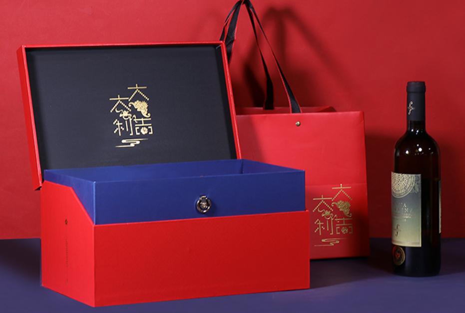 创意红酒礼盒设计